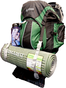 picture of emergency backpacks